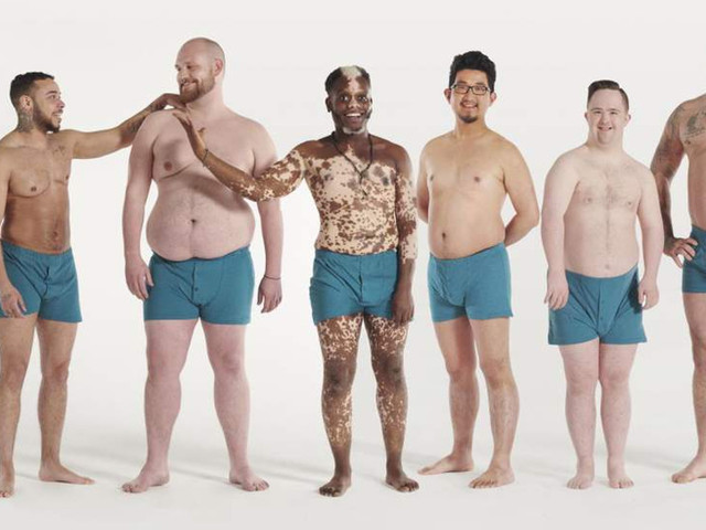 Campanha pede por mais corpos masculinos reais na publicidade