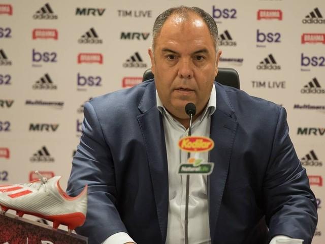 Braz diz que Fla não está apequenado na negociação com Filipe Luis