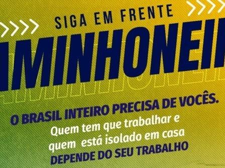 """PRF tem quinto dia da Campanha """"Siga em Frente, Caminhoneiro"""""""