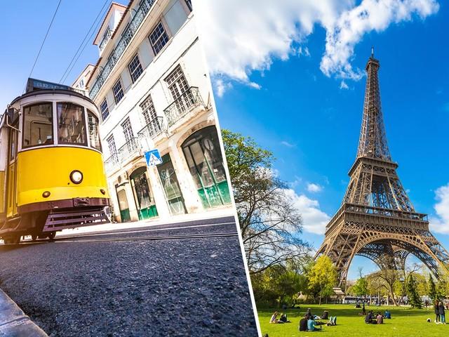 Portugal mais França! Passagens para Lisboa mais Paris a partir de R$ 1.823 saindo de Maceió, Porto Alegre, Recife e mais cidades!