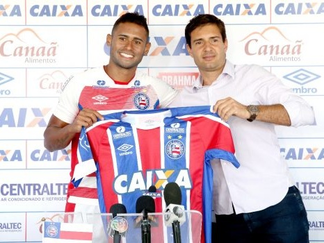 Apresentado no Bahia, atacante Kayke projeta boa temporada