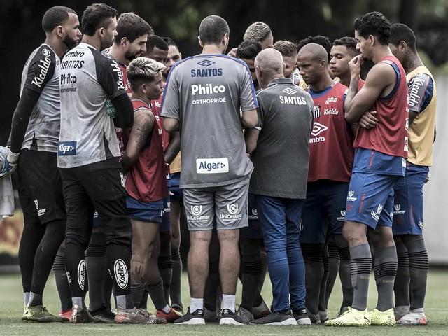Pré-temporada diferente de rivais agrada elenco do Santos