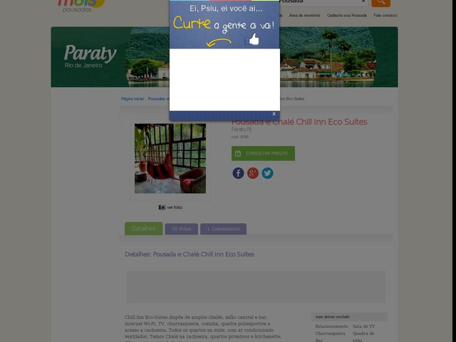 Chill Inn Eco Suites Pousada e Chalé - Paraty - RJ