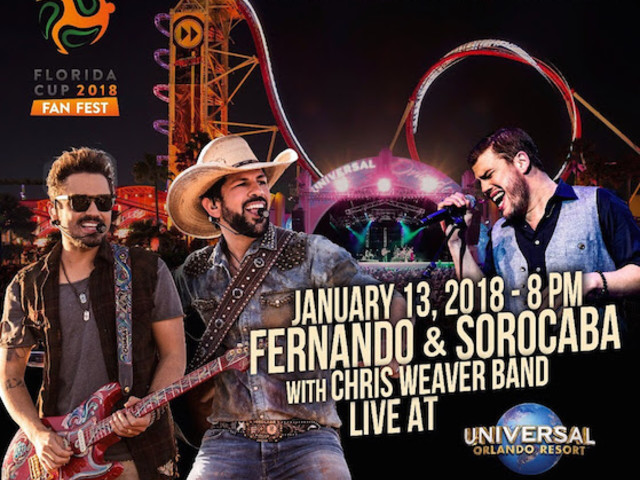 Florida Cup 2018 terá Fan Fest no Universal Orlando Resort