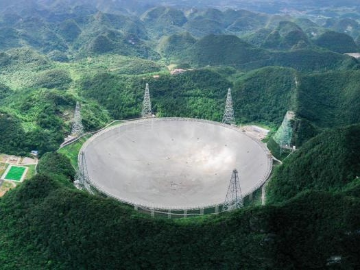 China inicia operações oficiais com o maior radiotelescópio do mundo