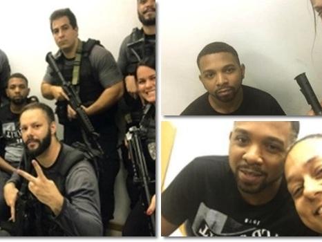 Qual a utilidade de uma polícia que se orgulha de posar ao lado de bandidos?