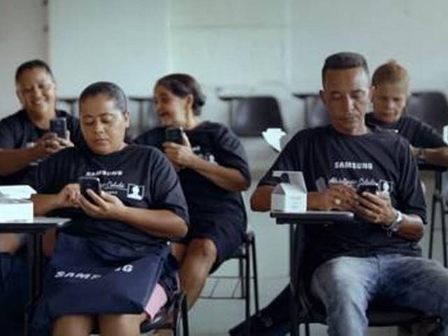 Samsung faz campanha com foco em edução através da tecnologia