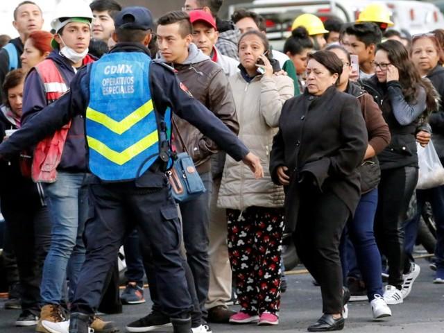 Erdbeben erschüttert erneut Mexiko