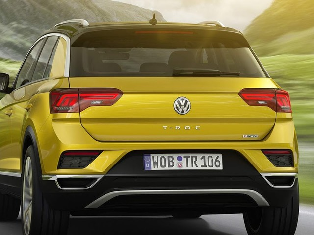 Volkswagen T-ROC: fotos, vídeo e detalhes do Golf SUV