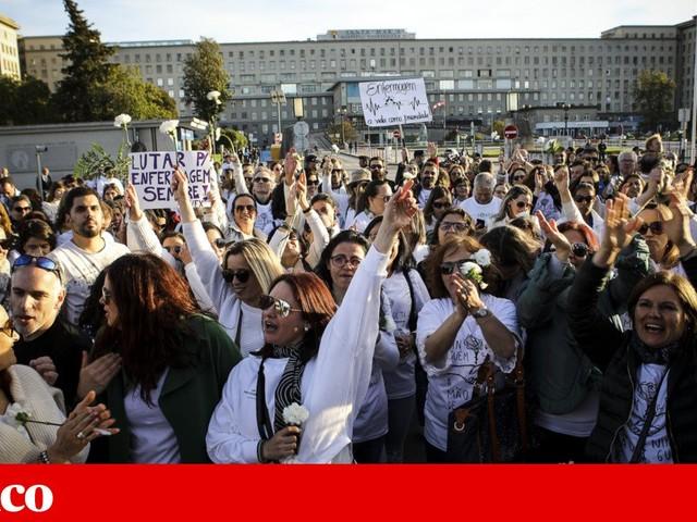 Fundo de apoio a greves dos enfermeiros ainda tem 246 mil euros