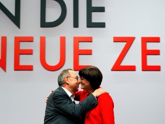 Esken und Walter-Borjans zu SPD-Chefs gewählt