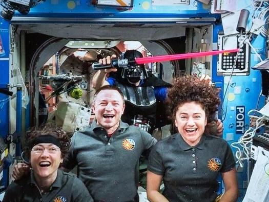 Astronautas na ISS assistirão a Star Wars: A Ascensão Skywalker no fim de semana