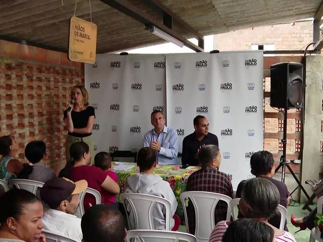 Governo começa processo de regularização de moradias em Paraisópolis, na Zona Sul de SP