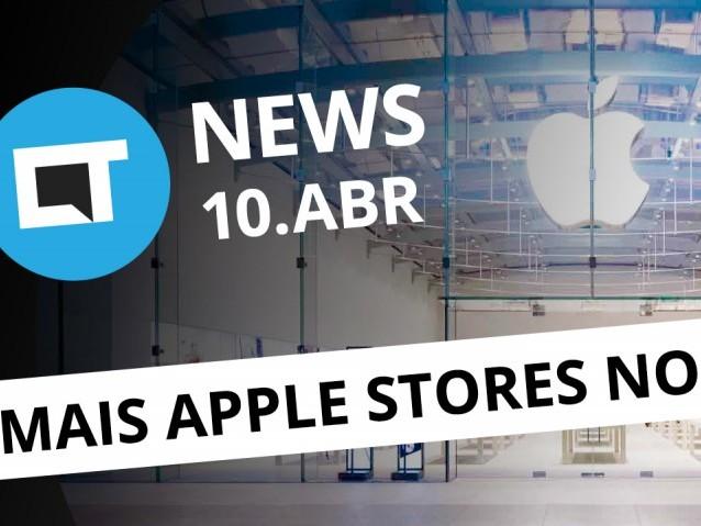 Novas Apple Stores no Brasil; Quantum MUV UP; regras drones no país e + [CTNews]