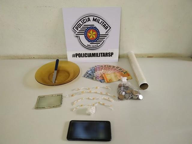 Rapaz é preso por tráfico com dinheiro com cheiro de crack no Jardim Humberto Salvador