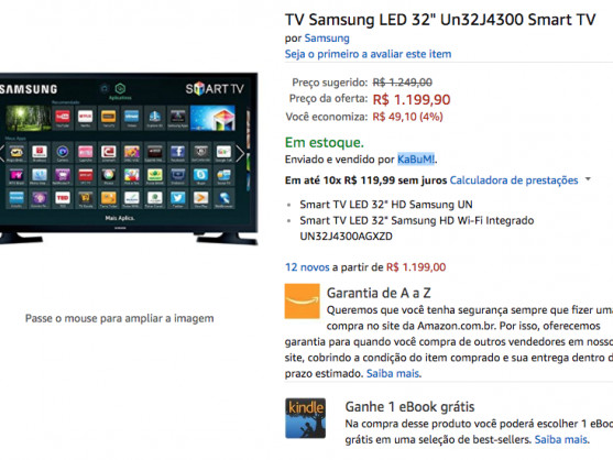 VALENDO! Amazon Brasil já comercializa eletrônicos E GAMES!