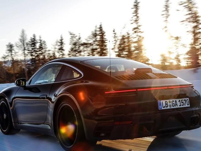 Porsche 911 2020 sob pressão: nova geração em testes
