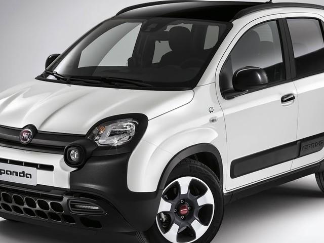 Fiat Panda Cross Waze tem suporte de celular como o Polo