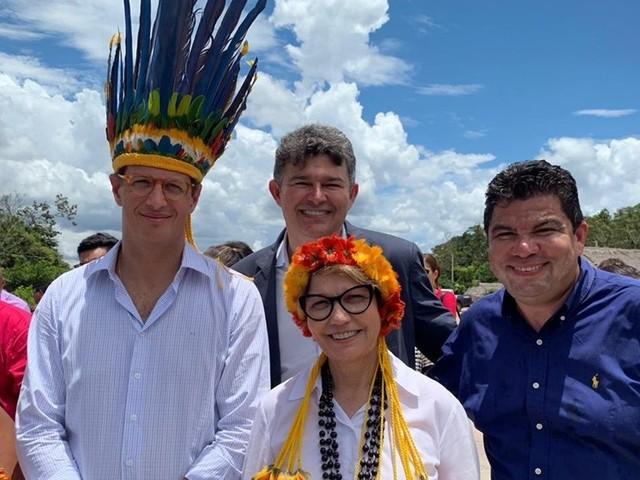 Ministros de Bolsonaro visitaram plantio ilegal em área embargada pelo Ibama