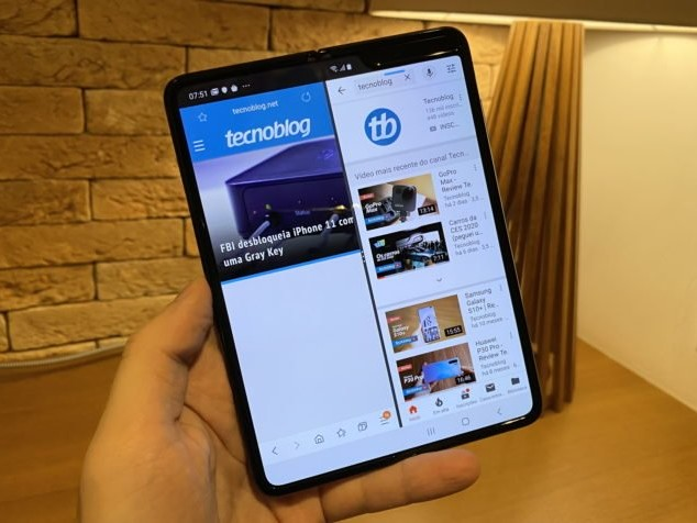 Galaxy Fold: Samsung vende celular dobrável no Brasil por apenas 24 horas