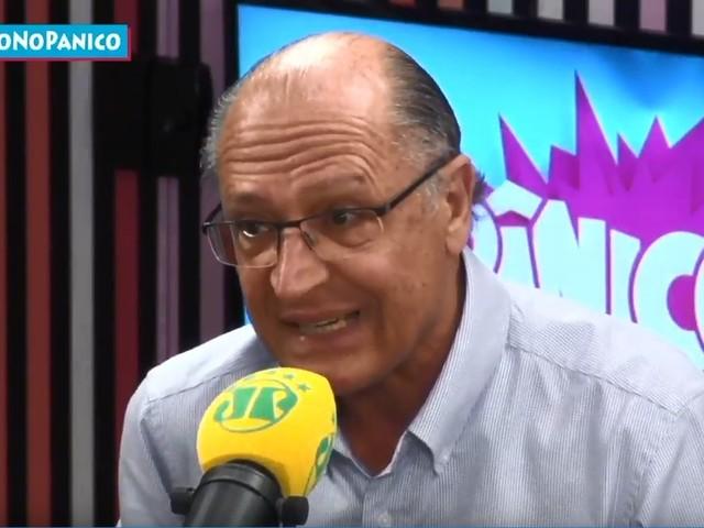 Alckmin diz que candidatura 'folclórica' de Bolsonaro não resiste ao segundo turno