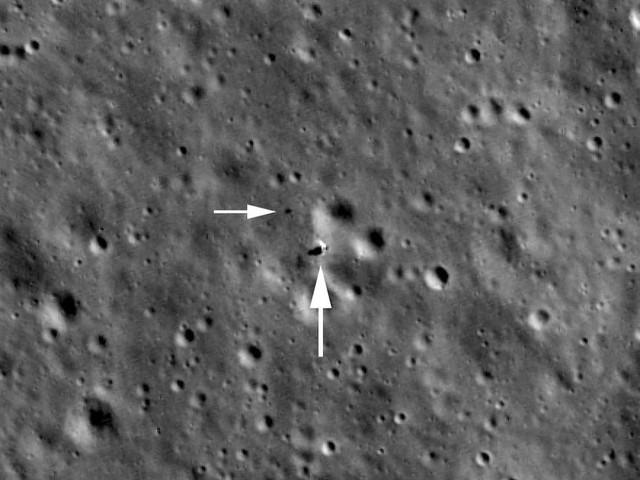 Sonda da Nasa flagra robôs chineses no lado afastado da Lua