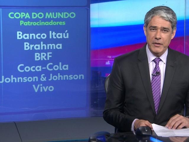 Globo fecha pacote de patrocínio da Copa do Mundo de 2018