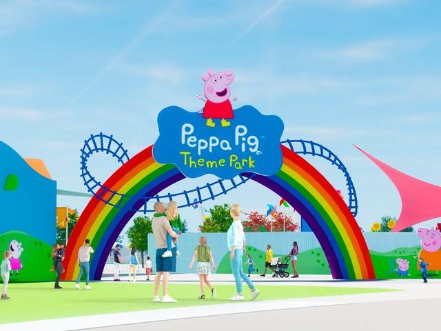 Novo parque temático da Peppa Pig será inaugurado em 2022 perto de Orlando