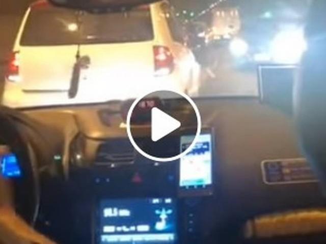 Perseguição policial assusta motoristas no Túnel Rebouças