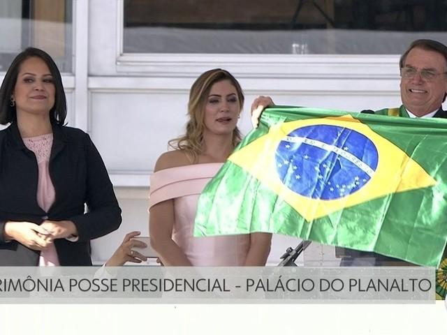 Bolsonaro promete 'tirar peso do governo sobre quem trabalha e produz' e 'restabelecer a ordem neste país'