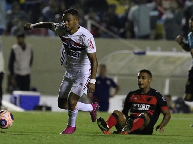 Veja fotos do último jogo do São Paulo na Copinha