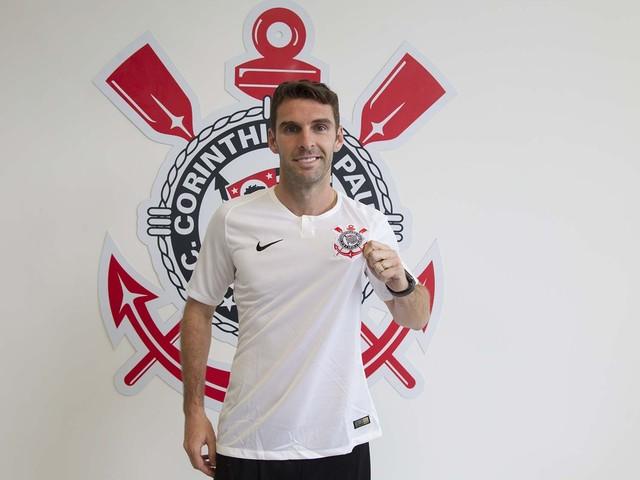 Boselli será apresentado à torcida do Corinthians em jogo na Arena