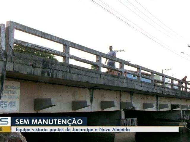 Pontes da ES-010, na Serra, têm estrutura vistoriadas