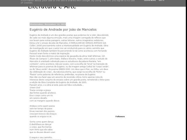 Eugénio de Andrade por João de Mancelos