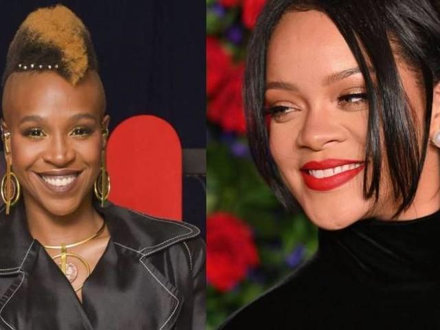 Depois de Ludmilla, Rihanna aparece ao som de Karol Conka em evento da Fenty Beauty