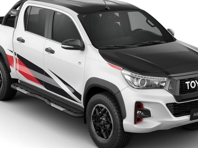 Toyota Hilux GR ganhará motor V6 de 275 cv este ano