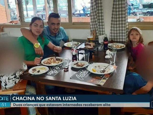 Crianças feridas após carro de família ser atingido por 50 tiros recebem alta de hospital, em Ponta Grossa