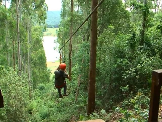 Agricultores aproveitam atrativos naturais em propriedades do Paraná para aproximar visitantes