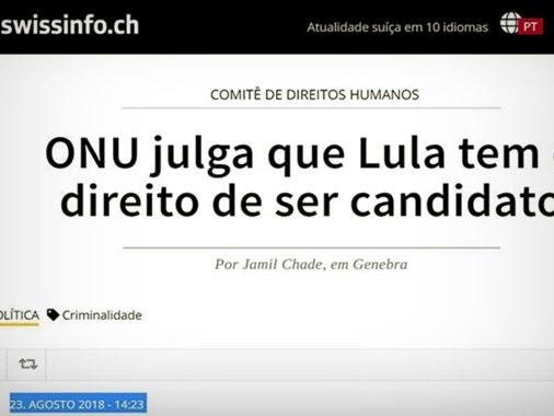 'Estadão' censura entrevista com jurista da ONU sobre Lula
