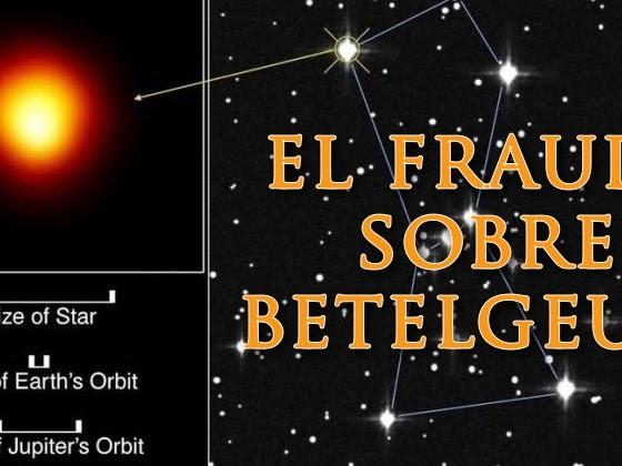La burbuja de Betelgeuse y la posverdad