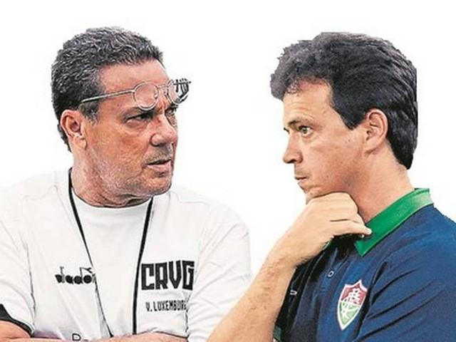 No Vasco x Fluminense deste sábado, duelo entre Luxemburgo e Diniz
