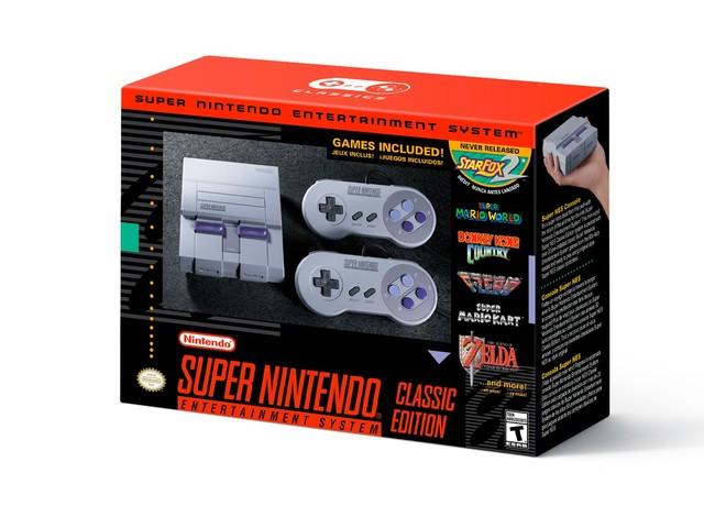 Nintendo anuncia a volta do Super Nintendo em setembro deste ano