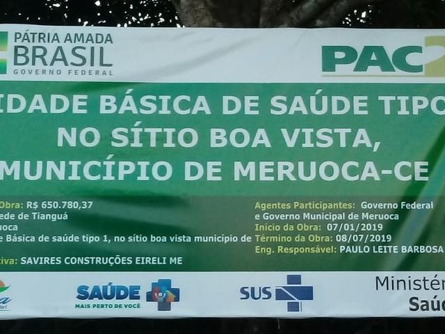 """Denúncia: Prefeitura de Meruoca """"Abandona"""" Construção de Posto de Saúde"""