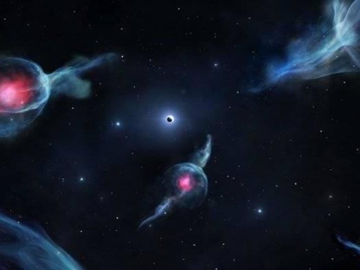 Objetos que ninguém sabe o que são orbitam buraco negro da Via Láctea
