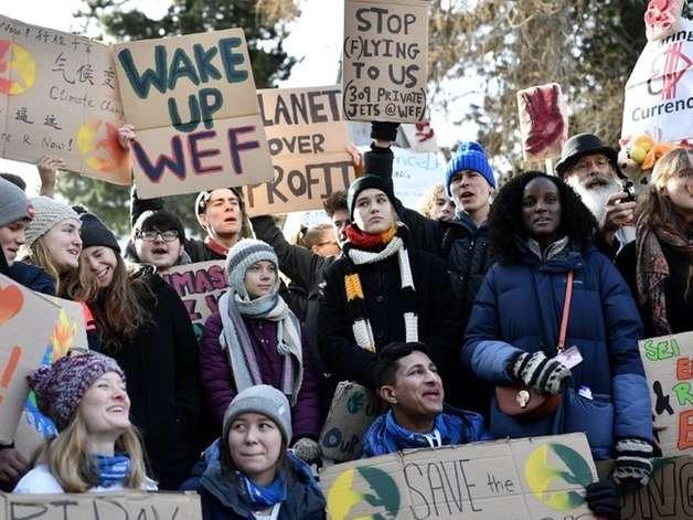 Greta: reivindicações climáticas foram 'totalmente ignoradas' em Davos