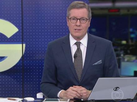 Marcio Gomes comemora ao apresentar Jornal da Globo pela primeira vez: 'Significou muito pra mim'