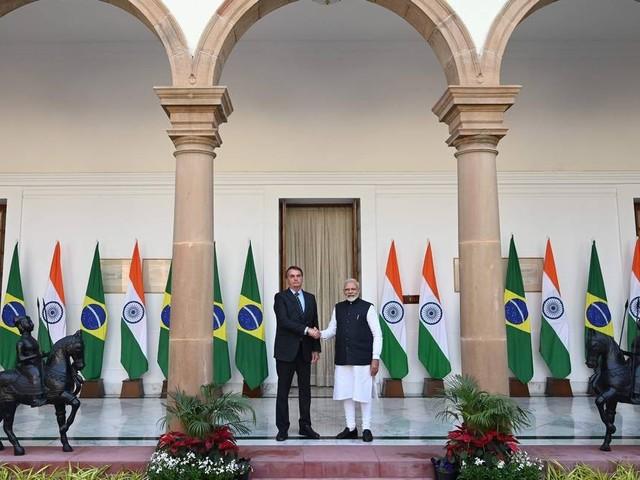 Brasil e Índia se comprometerão a dobrar comércio bilateral até 2022, chegando a US$ 15 bilhões