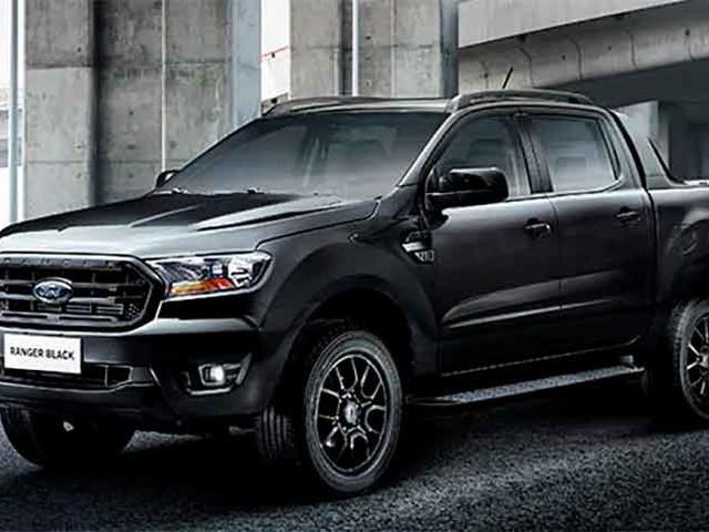 Ford revela Ranger Black e confirma Bronco, Mustang Mach 1 e Transit em seu site oficial