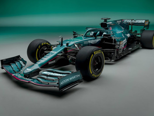 Aston Martin retorna a Fórmula 1 em 2021 com motor Mercedes