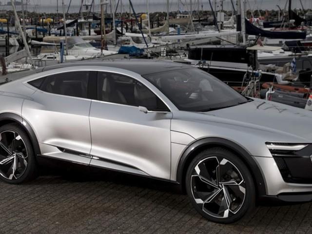 Audi e-Tron Sportback elétrico: produção começa em 2019